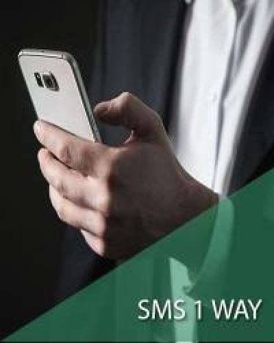 3.000 SMS - 1 WAY